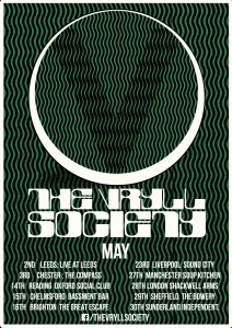 The Vryll Society on tour in May.